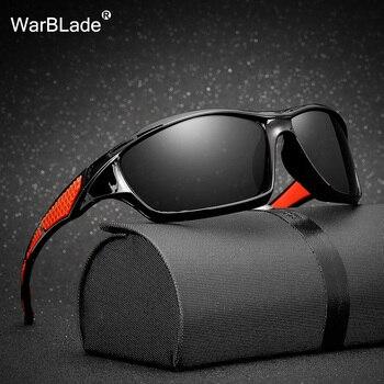 7ececcd61e Gafas de sol polarizadas de diseño de marca gafas de sol para hombre, gafas  de conducción de marco negro, gafas de pesca, gafas de sol para hombre,  WarBLade