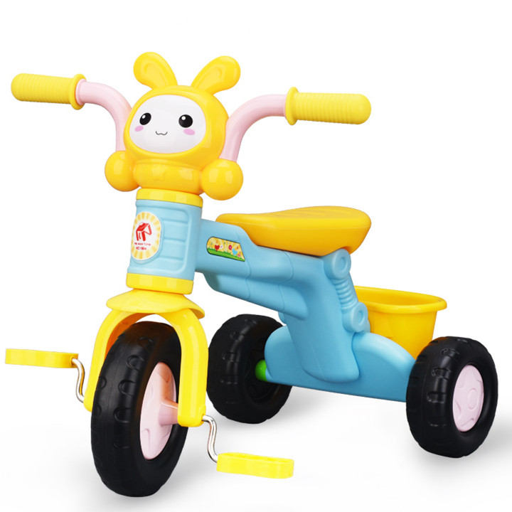 Baby Stroller Kids Bikes Tricycle Baby Walkers Music Version Cartoon Children's Bicycles Three-wheeled Bicycle Outdoor Gear
