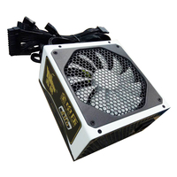 rated power 600w power up to 800W active ATX desktop 14cm fan top grade quality PowerSupply for 110v and 220v