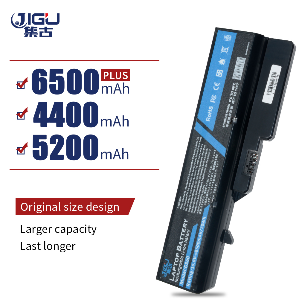 JIGU Laptop Battery L09M6Y02 L10M6F21 L09S6Y02 L09L6Y02 For Lenovo G460 G465 G470 G475 G560 G565 G570 G575 G770 Z460-in Laptop Batteries from Computer & Office