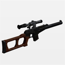 Paper Sniper rifle Model Toys Handmade 3D DIY material manual creative Party show props tide Home decorate Collection Gift