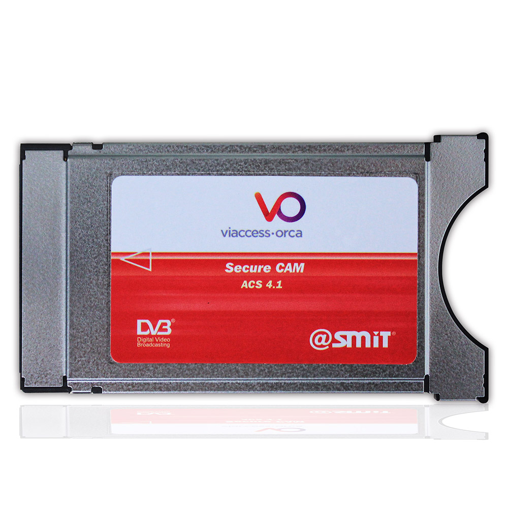 SMIT Viaccess CAM CI Module BIS TV, MAX TV, Arabesque ART, TPS, Satisfaction TV, Canalsat, AbSat, Viasat нтв плюс module tv сибирь