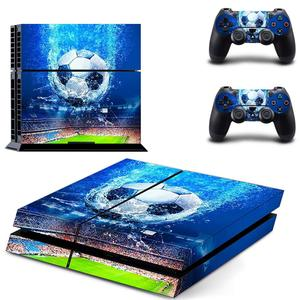 Image 1 - Football PS4 Skin Sticker Decal for Sony PlayStation 4 Console and 2 controller skins PS4 Stickers Vinyl