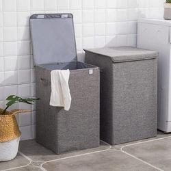 Large Washable Dirty Clothes Storage Basket Household Simple Storage Laundry Basket Bedroom Clothes Storage Bucket Foldable