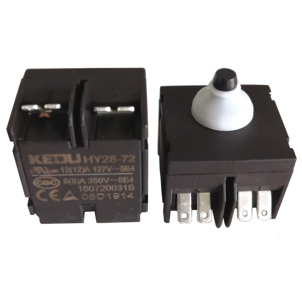 2 Pcs Bedroom Light On//Off In Line Cord Switch Black AC 250V 2A FP