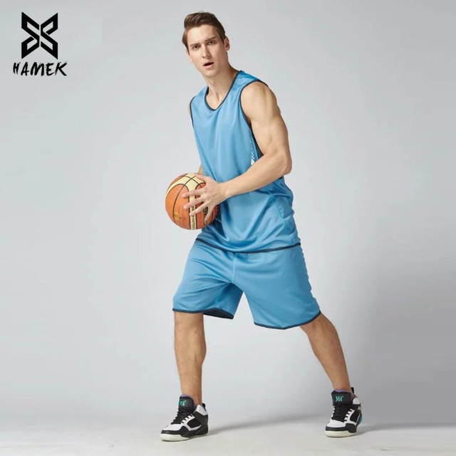 Basketball Set Uniforms Training Suits Running Breathable Sports Set 3