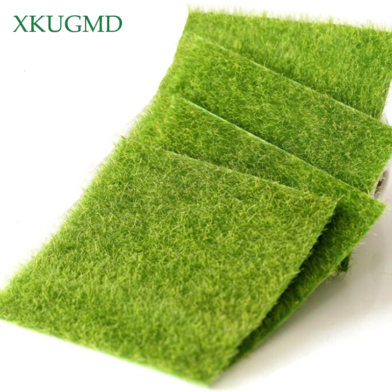 5Pcs Grass Mat Green Artificial Lawns 30x30cm Small Turf Carpets Fake Sod Home Garden Moss For Home Floor Wedding Decoration