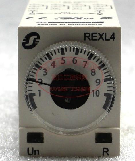Small time relay REXL4TMBD DC24V schneider time relay rexl4mbd dc24v