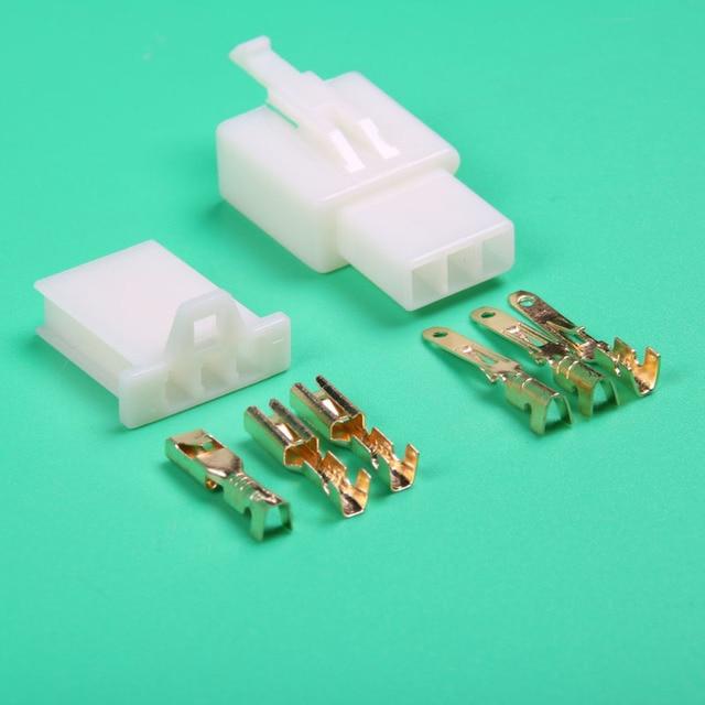 Elektrische fahrrad/Auto/RC/RV 2,8mm 3 pin draht anschluss ...