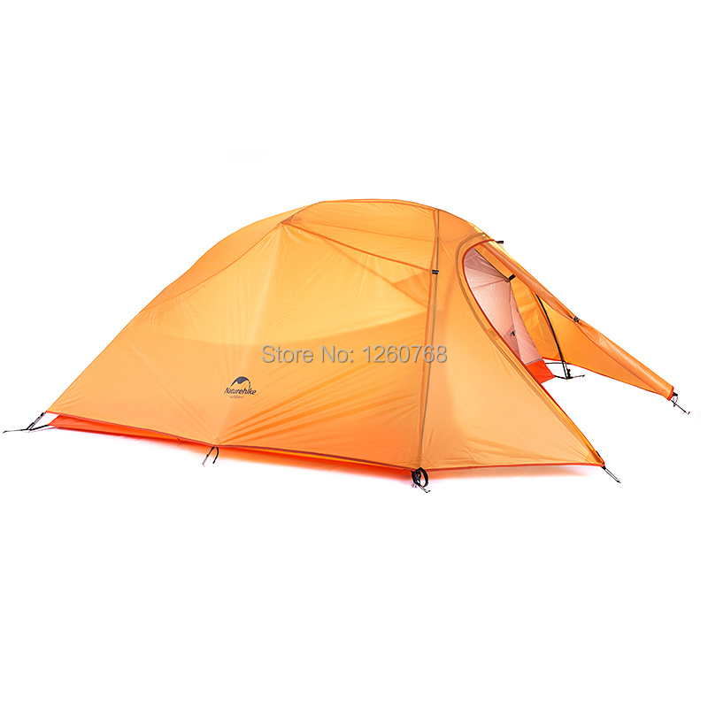 Naturehike 3 Person Ultralight Tent Camping Double Layer Tent Outdoor Hiking Picnic Waterproof Tent  NH15T003-T защита everlast защита голени и стопы grappling