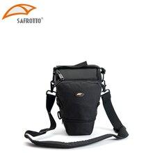 Cheapest prices Safrotto Waterproof Camera bag Compact DSLR / SLR Micro Digital Camera Holster shoulder Bag Case Black Color Triangle Camera Bag
