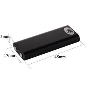 Image 5 - 2 in 1 Mini Audio Voice Recorder Pen USB Flash Disk Ultra Slim Secret Digital Small MP3 8GB Player 14 Hours Recording