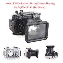 Meikon 40m/130ft Underwater Diving Camera Housing for Fujifilm X-A1 (16-50mm ),Camera Waterproof Underwater housing Case,Bag