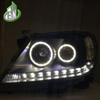 Car Revo Head light for Toyota Hilux headlight 2008 2012 2014 Vigo LED headlights with Xenon Lens and DRL Front lamp
