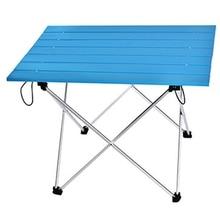 ポータブルテーブル折りたたみ折りたたみキャンプハイキングテーブル旅行屋外ピクニックアルミ超軽量