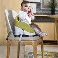 Multifuncional cadeira de jantar do bebê portátil, cadeira de jantar cadeira de jantar BB comer as crianças aprendem assento do bebê