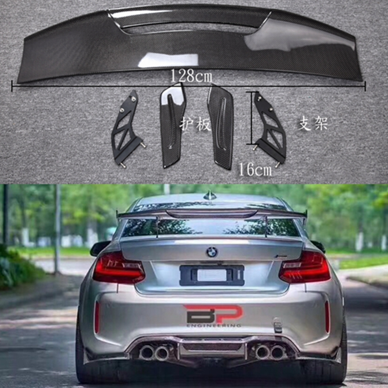 Carbon Fiber CAR REAR WING TRUNK LIP SPOILER FOR BMW M1 M3 M4 M5 M6 1 2 3 4 5 6 7 Series MAD GT BY EMS аккумуляторный ударный гайковерт metabo ssw 18 ltx 400 bl 602205500
