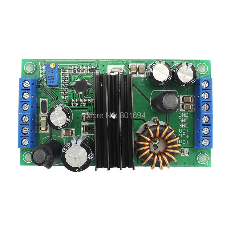 14A 5-32V 200KHz High-Power Automatic Step UP/Down Module LTC3780 Car PC Car Laptop Power Supply Conversion Efficiency Up To 98%