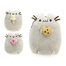 3Styles Kawaii Brinquedos New Cat Pusheen Cookie Icecream Doughnut Stuffed Plush Animals font b Toys b
