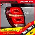 Auto Luzes Traseiras Clud Estilo Do Carro para Chevrolet Captiva 2008-2015 Kaptiva CONDUZIU A Lâmpada de Cauda LEVOU Lâmpada Traseira DRL + freio + Parque + Sinal de led l