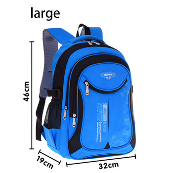 New Fashion High Quality Oxford Children School Bags Backpacks Brand Design Teenagers Best Students Travel Waterproof Schoolbag  Beige