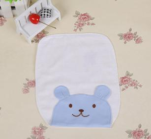 2015 Newborn products lovely cartoon cotton squares washcloth baby wipe sweat absorbing towels 64pcs/lots mix free shipping