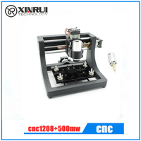 Mini Cnc Machine 1208 With Spindle And 500mw Laser For Study And Research Best Hobby Machine