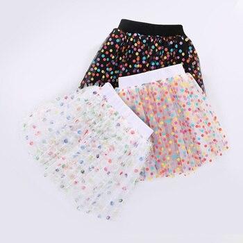 Faldas Tutú con lunares de colores. Bebé bebés