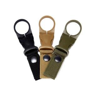Image 1 - Тактический рюкзак, военный зажим, крючок, держатель для бутылки с водой, бушкрафт, уличный инструмент для повседневного использования, велосипедный аксессуар, карабин для подъема