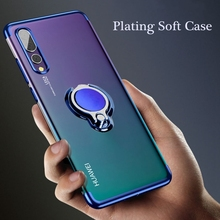 Case For Huawei honor 10 8X 9 10lite huawei p20 lite pro Finger Ring Magnet Cover For Huawei nova 3 3i mate 20 pro lite Cases magnet car holder case for honor 8x 10lite note10 huawei mate9 p10 clear soft tpu cover for huawei p20 pro lite nova 3 3i cases