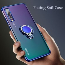 Case For Huawei honor 10 8X 9 10lite huawei p20 lite pro Finger Ring Magnet Cover For Huawei nova 3 3i mate 20 pro lite Cases(China)