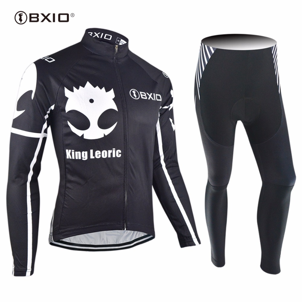 2017 New Arrival Bxio    Cycling Jerseys  Long Sleeve Bicycle Clothing Autumn Pro Tour Team Bike Clothes Ropa Ciclismo 109 new 17 black red spider mens breathable bike clothing polyester autumn long sleeve cycling jerseys size 2xs to 6xl