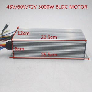 72V 3000W electric motor With BLDC Controller 3-speed throttle For Electric Scooter ebike E-Car Engine Motorcycle Part