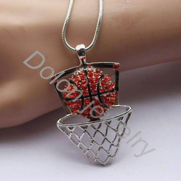 ⃝Сплав Баскетбол Цепочки и ожерелья спортивная подвеска ...