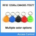 (10 шт.) T5577 Перезаписываемый Программируемые RFID 125 КГц Брелок Брелки Key Finder Для Копирования EM4100 Карты