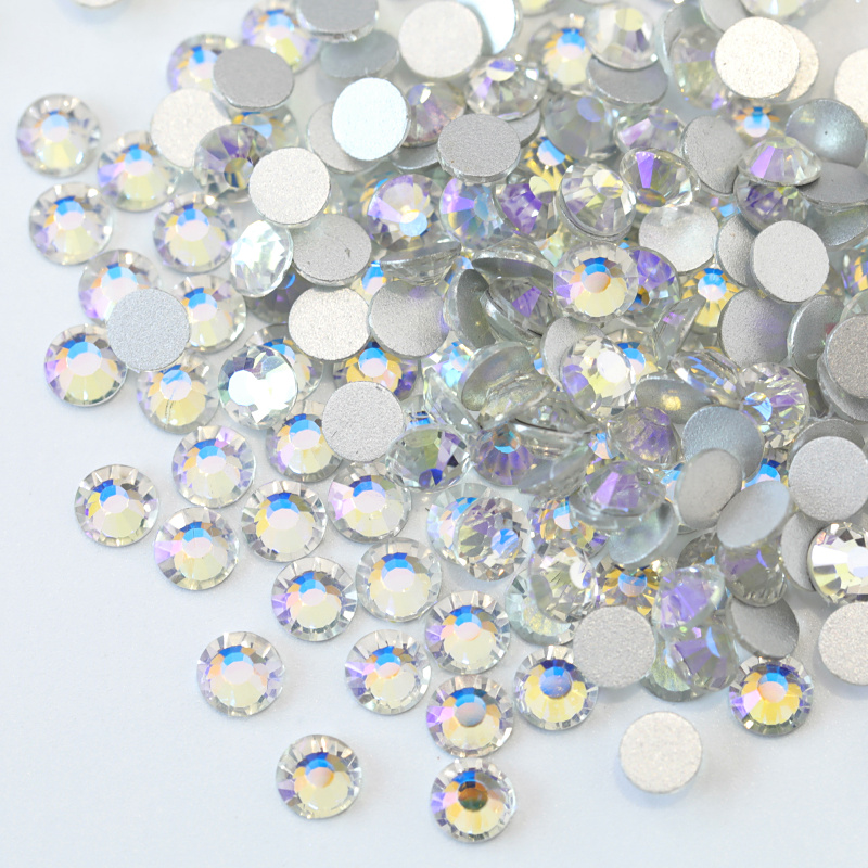 2028 Crystal Moonlight Glass Crystal Non Hot Fix Rhinestone Non Hotfix  Rhinestone Glitter Strass For Nail Art Decorations B3422 b52b69ed2fe5