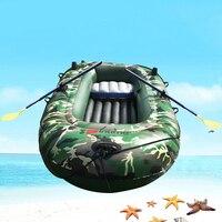 Горячие sale1 комплект Портативный высокое качество ПВХ 2 человек резиновая лодка надувная утолщение Рыбалка каяк Рыбалка лодка Размеры 198*122*...