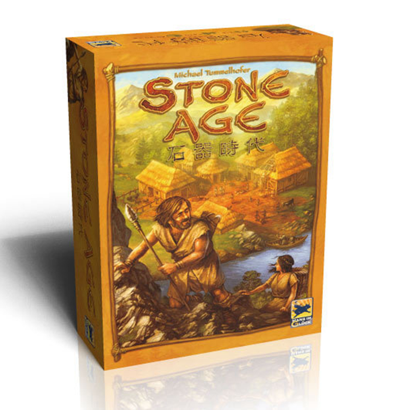 Stone Age Super Classical Germany Board Table Games Family Party Popular Board Game indoor games twister family board game that ties you up in knots