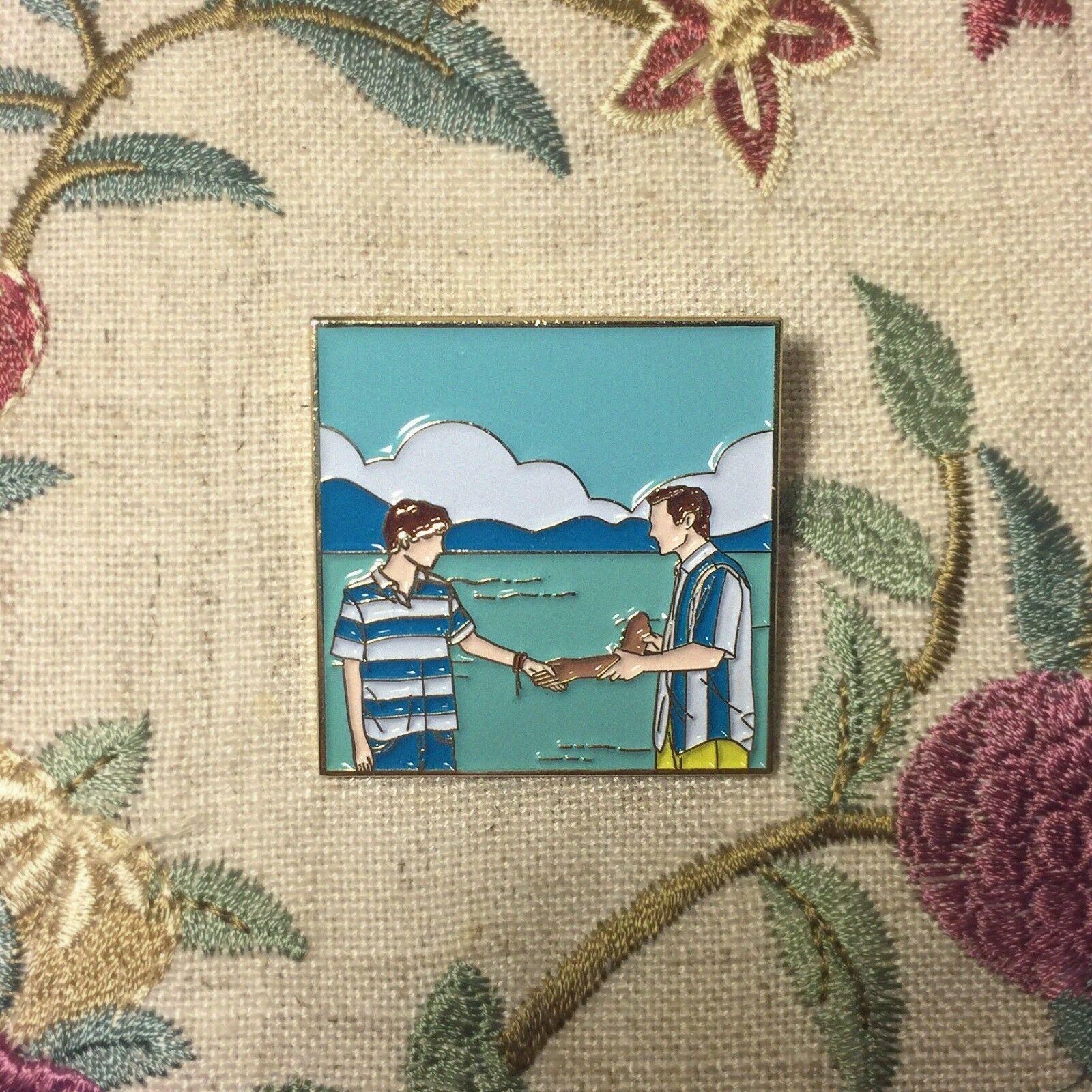 CMBYN Julie Andem Movie SKAM EVAK Coming out Metal Badge Pin Brooch Rare Gift N