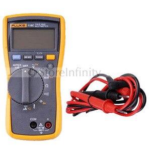 Fluke 116c multímetro verdadeiro rms temperatura microamp original 116|multimeter true rms|true rms|true rms multimeter -