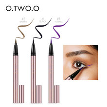 O.TWO.O Professional Waterproof Liquid Eyeliner Beauty Cat Style Black Long-lasting Eye Liner Pen Pencil Makeup Cosmetics Tools все цены
