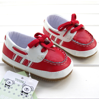 2012 Autumn Lacing Casual Baby Shoes Thickening Wavingness Rubber Soled 8866a