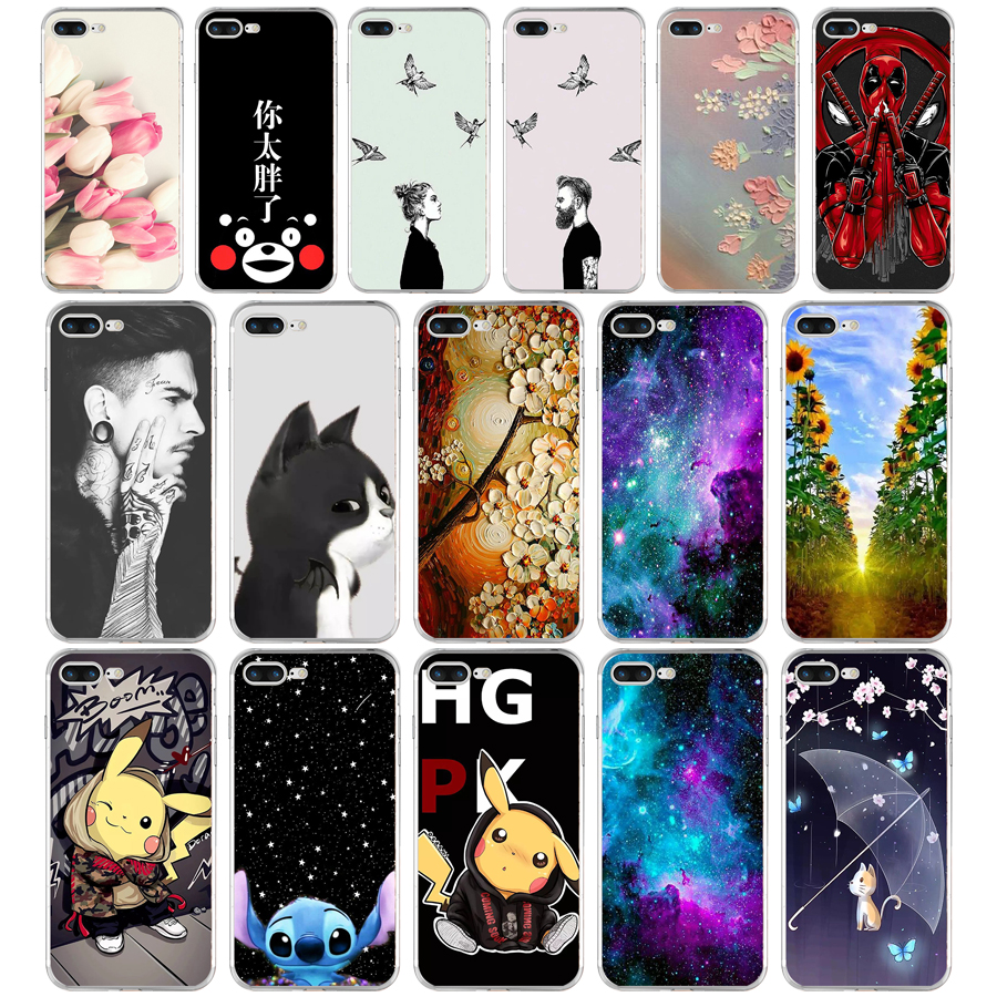 20 Funny Soft TPU Case for iPhone 7 Plus Beer Gameboy Phone Battery Clear Silicone Cover for iPhone 7 Plus Capa thumbnail