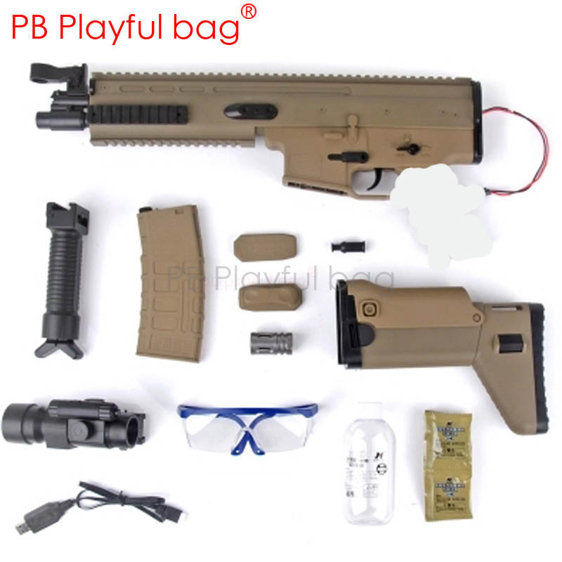 Fashion Playful Bag Outdoor CS Equipment Jinming SCAR V2 Water Bullet Gun Shell Wave Box Ma Gaiplus Magazine Accessories OA63