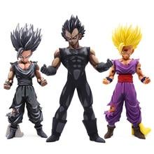 Dragon Ball Z MSP Master Stars Piece Chocolate Son Goku Vegeta PVC Figure Manga Dimensions DBZ Collectible Model Kids Toy Gift