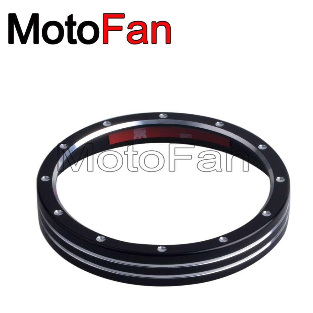 Custom Motorcycle Speedometer Trim Bezel Ring Bracelet Cover Replacement For Harley Davidson Roadster XL1200CX <font><b>Iron</b></font> <font><b>883</b></font> XL883N image