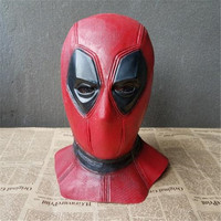 Movie Television Deadpool Cosplay Mask Halloween Bar Party Latex Head cover