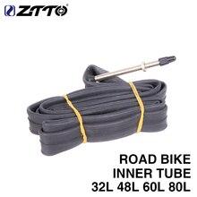 ZTTO Road Bike Bicycle 700c French/Presta F/V Extended Long Valve Inner Tube for 18c-23c 32l 48l 60l 80l city bike