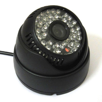 1 3 700TVL Super SONY CCD IR Color CCTV Indoor Dome Security Camera 48 LEDs Day