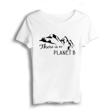 There Is No Planet  Men  Vintage T Shirts White Military Shirt Modal Casual Short Streetwear T-shirt Smart Casual White T Thirt